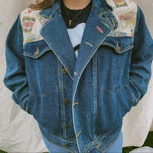 Vintage GASOLINE ⛽️ denim jacket